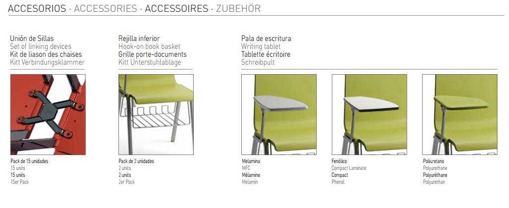 Accesorios para la silla MIT