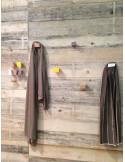 Coat rack wooden wall design pau407009