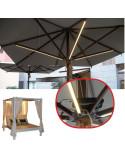 Led light strips for hospitality parasol pho2005038
