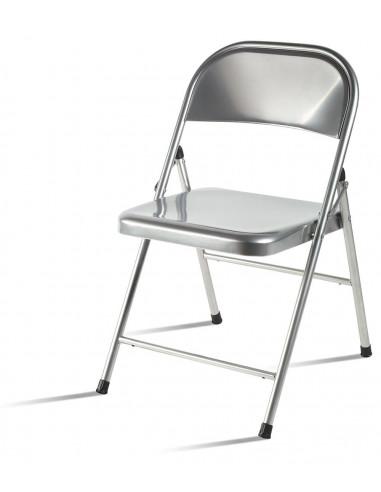 Cadeira metálica dobrável spl122002