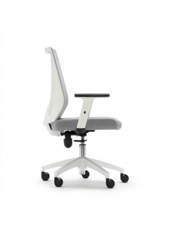 Chaise de bureau pivotante mesh Blanca Tirana STE2033003