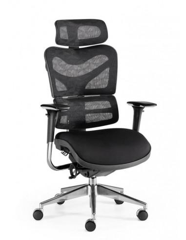 Swivel office chair mesh New Ergostone by Euromof ste2033009