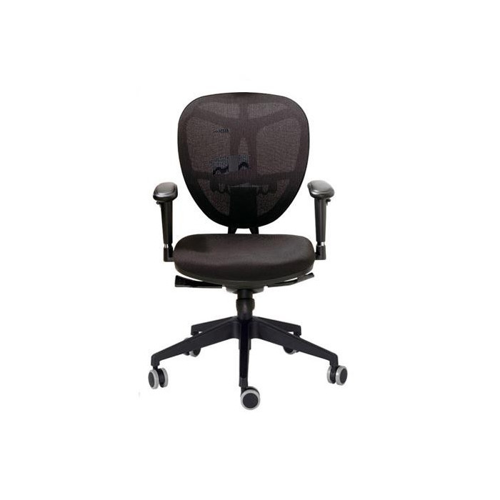 Silla giratoria oficina evolution de dileoffice for Mobiliario oficina sillas