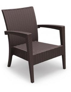 Rattan armchair Miami Ipanema RESOL sho1032024