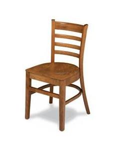 Sedia ospitalità legno MRM16 miele o noce sho1092010