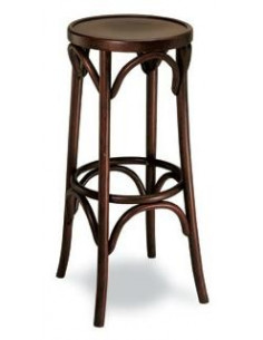 Taburete 164 madera oscuro sta195001