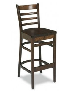 Taburete 5617 madera oscuro sta195005