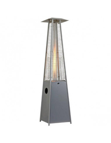 calefactor pirámide Flamme con ruedas eho1111011 COLOR PLATA