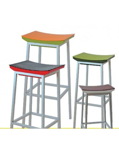Sgabello colori YOKO per bar, ristorante, cucina,ecc sta1100002