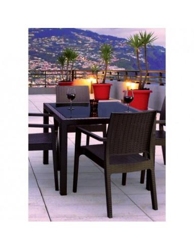 Conjunt RESOL Atlàntic taula + 4 cadires INDIANA