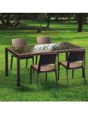 Conjunt taula + cadires RESOL PACÍFIC kho1032015