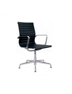 arm chair swivel leather sho1027001