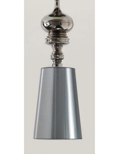 Lámpara colgante de techo cla1040005 plateada