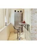Mesa de cozinha de design mco1150001 vulcano single 2