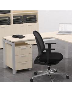 Ala para mesa oficina mop1101007 con estructura de metal