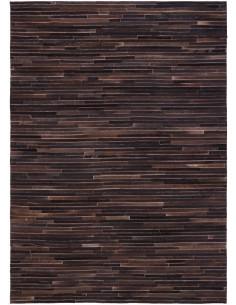 Pelliccia tappeto moderno LINEE coal1153005
