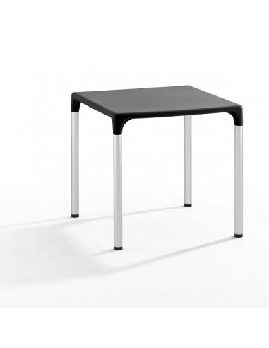 Mesa com tampa de polipropileno mho1145004 preta