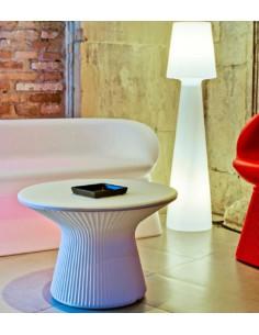 Tavolino con luce mho1146002 colore bianco. Luce blnaca o led (colori facoltativi