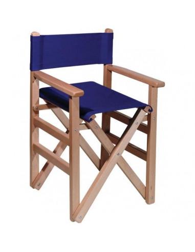 silla director infantil madera y lona cpu2005007
