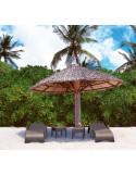 Mesa de terraza auxiliar Ipanema mho1032017 con tumbona tropic