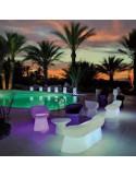 Sofa lumineux jardin design sho1146001 avec piscine