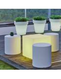 Vaso de projeto Magnolia com luz lil1146009