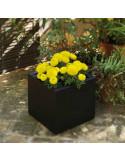 Jardiniere pot fleurs Narciso cja1146008 en noir