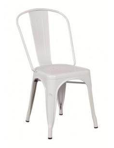 Cadeira de metal vintage retro réplica tolix sho1040006