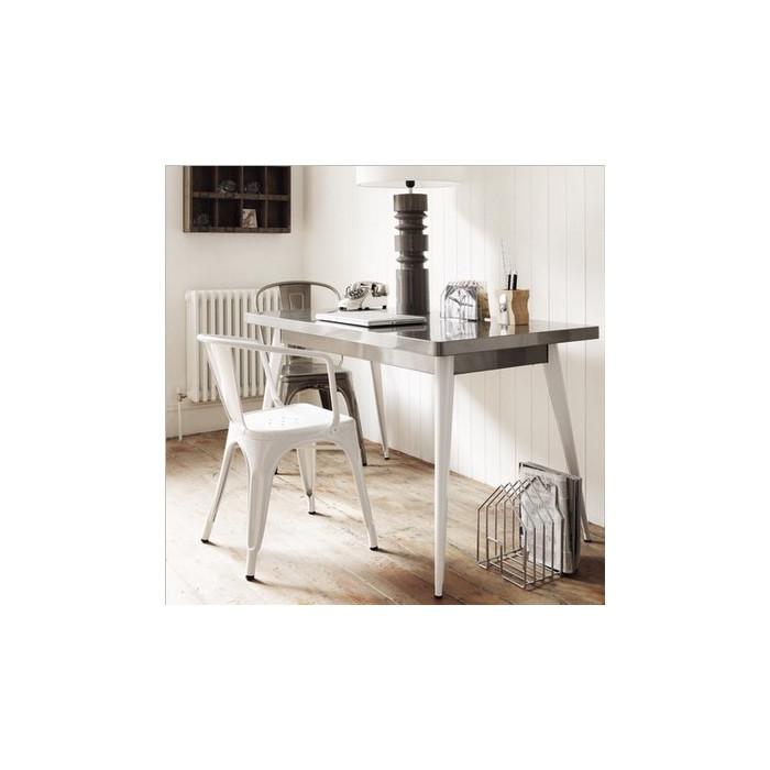 Vintage metal armchair | replica tolix