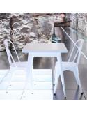 Mesa vintage 80cm mho1040006 blanca