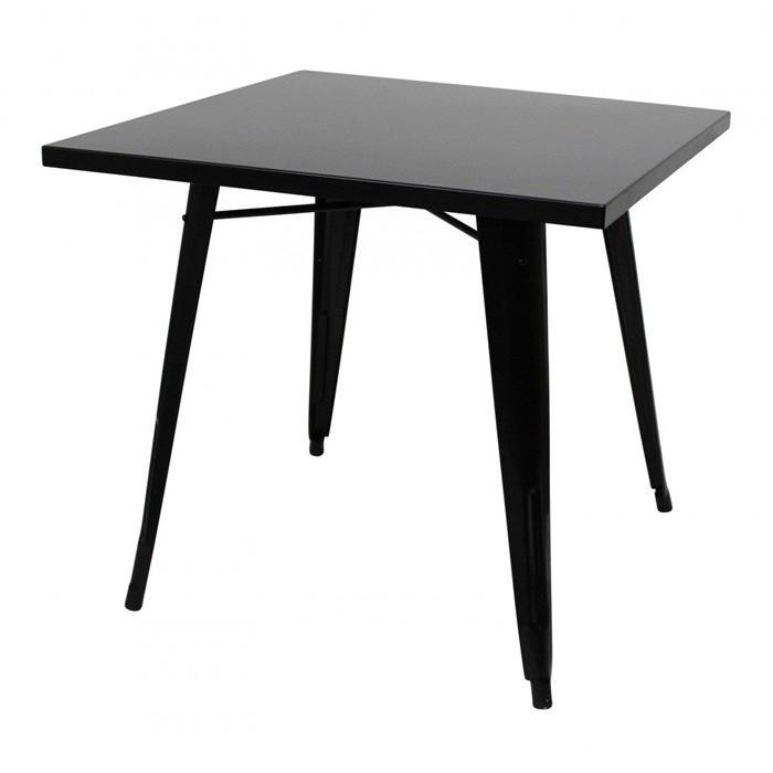 vintage metal table. retro furniture.