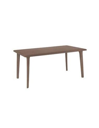 RESOL DESSA garden table mho1032052 chocolate160x90cm