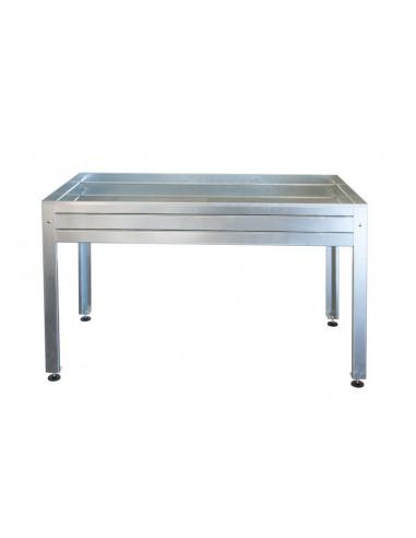 mesa de cultivo galvanizada de 150x50 hja2009003