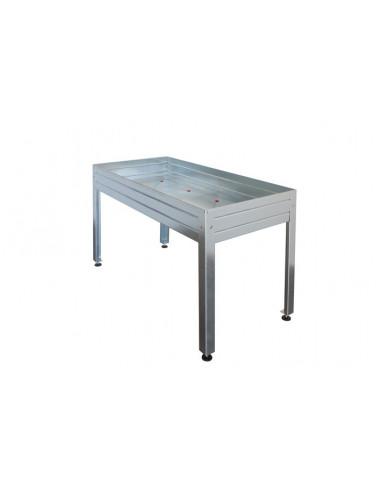 mesa de cultivo galvanizada de 150x75 hja2009005