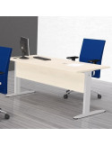 140x80cm Taula oficina MAX mop1101021 taula davant