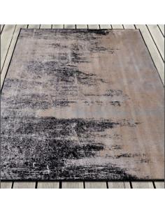Vintage carpet CARVING BRUMA coal1153014