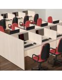 Call centre tables bureau mop1101030