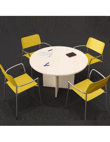 Meeting table 120cm diam. mop1101031