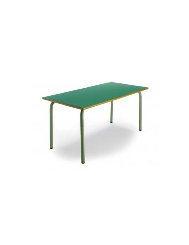 mesa infantil escolar rectangular mes105003