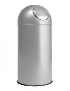 Papelera contenedor gran volumen Push ppa407001