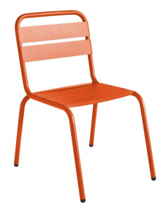 Aluminum stackable outdoor chair Barceloneta Isimar sho1145006