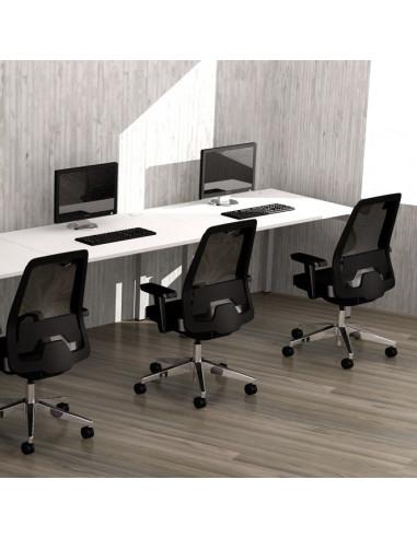 3 person fice workstation desk 420x80cm workstation