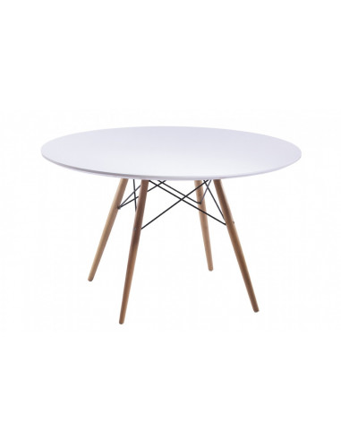80cm round eams table style msa122001