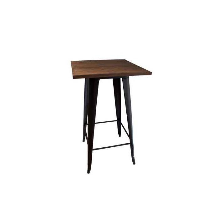Mesa alta para taburete vintage vintage mobiliario online - Mesa alta con taburetes ...