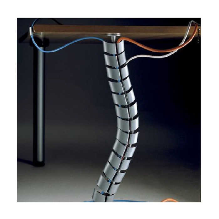 Soporte pasacables mesa oficina mobiliario de oficina for Cables pc galeria jardin