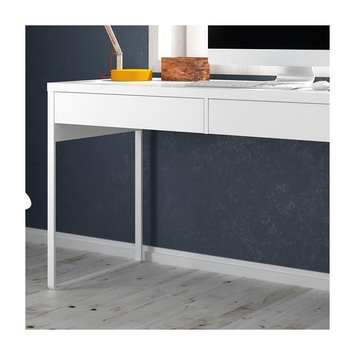Table bureau avec tiroirs mju2010001 - Bureau blanc avec tiroir ...