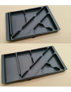 Cabinet 3 tiroirs avec roues aca1044001