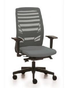 Oficina cadira ergonòmica de nou en malla de colors synchro ste72001
