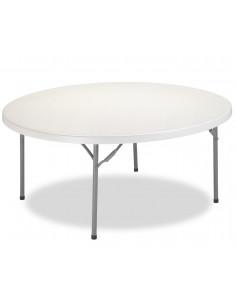 Diameter 180 cm polyethylene folding banquet table mpl1092017