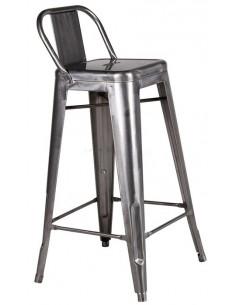 Vintage metal high stool tolix sta1040009